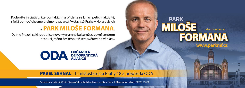 PARK MILOŠE FORMANA